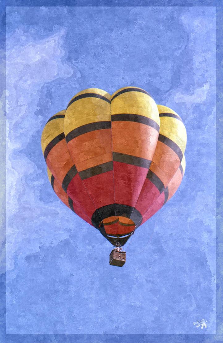 Hot Air Ride by GreyWolfeRun