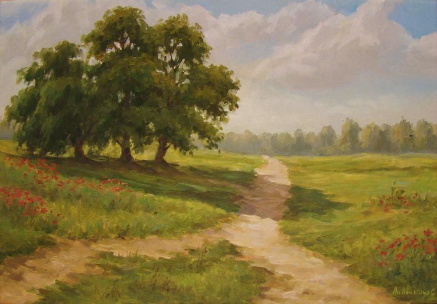 Summer Path by AnatolyPanagonovART