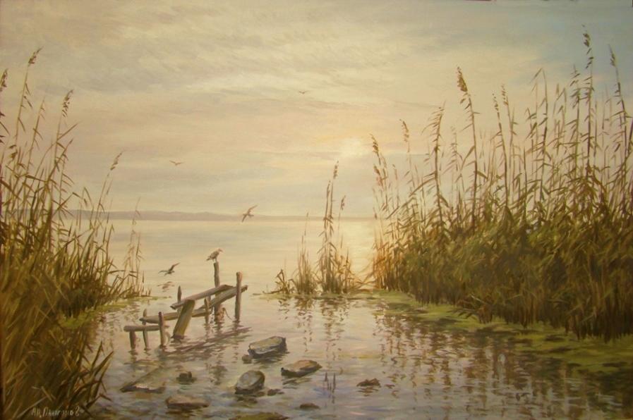 Sunrise by AnatolyPanagonovART