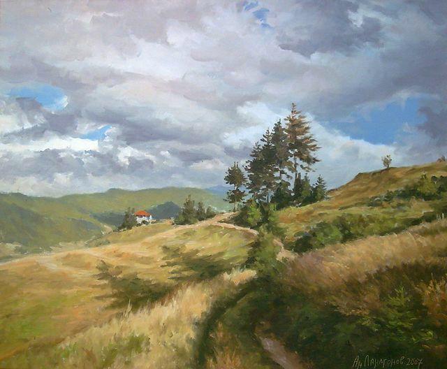 Golden Meadows by AnatolyPanagonovART