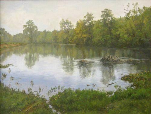 Creek by AnatolyPanagonovART