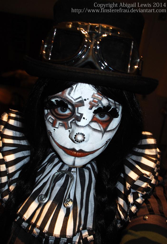 steampunk clown by finsterefrau on deviantart. Black Bedroom Furniture Sets. Home Design Ideas