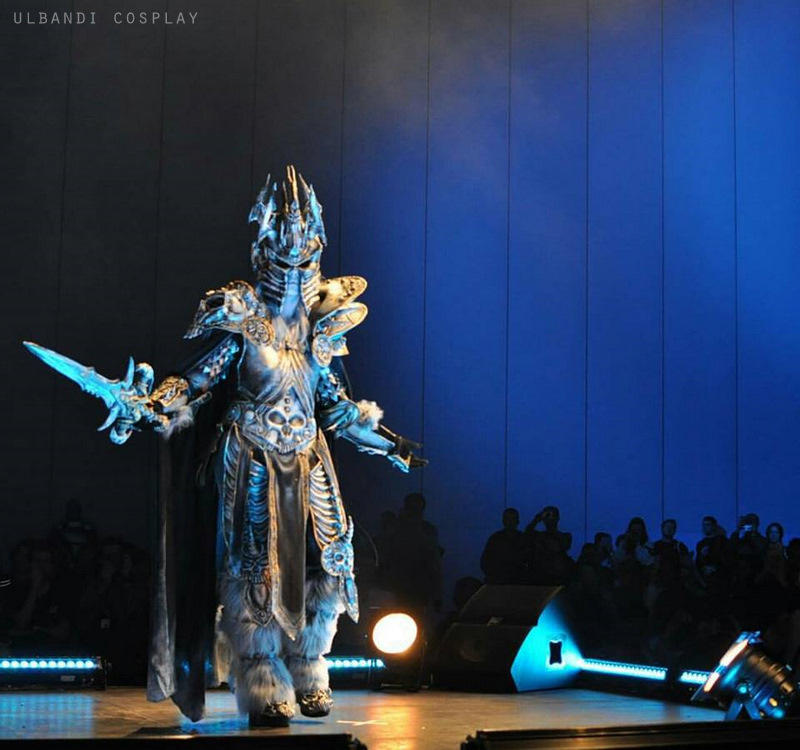The Lich King cosplay