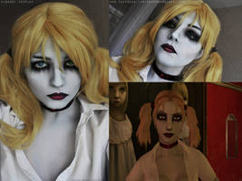 Jeanette Voerman makeup by FinstereFrau