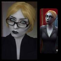 Therese Voerman makeup by FinstereFrau