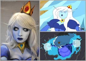 Adventure Time Ice Queen Make Up