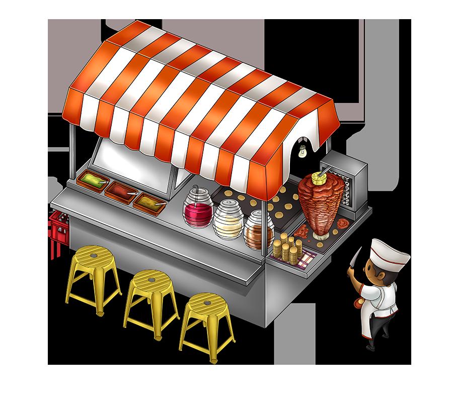 Puesto de tacos by ckrauss