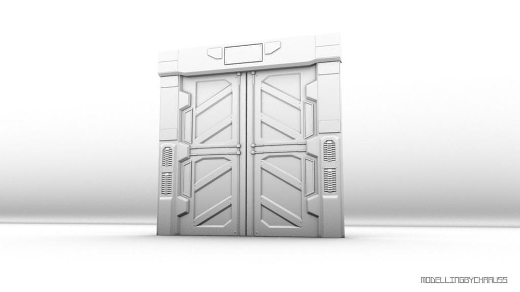 Door Sci fi by ckrauss