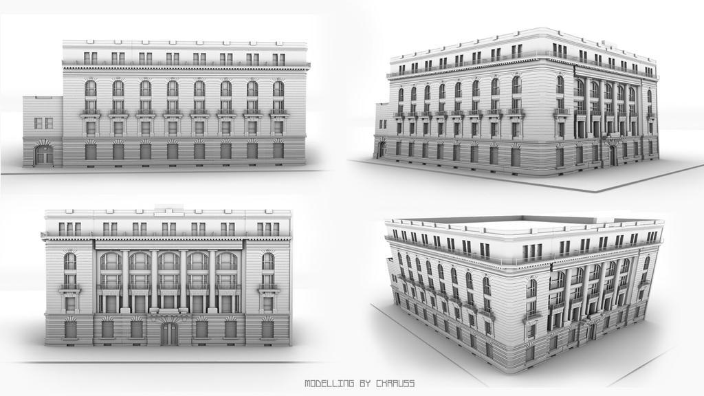 Banco de Mexico by ckrauss
