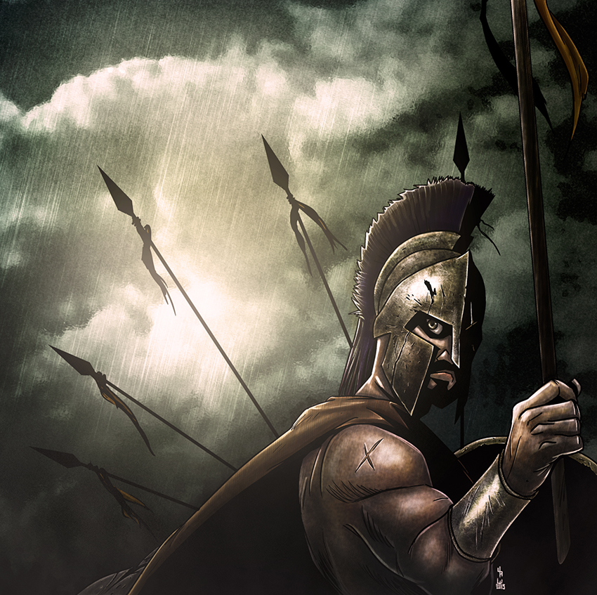 Leonidas by ckrauss
