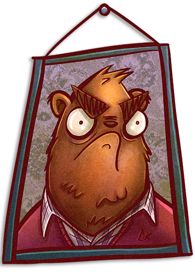 Oso enojado by ckrauss