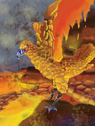 Lava Bird by RandomFlyingBananas