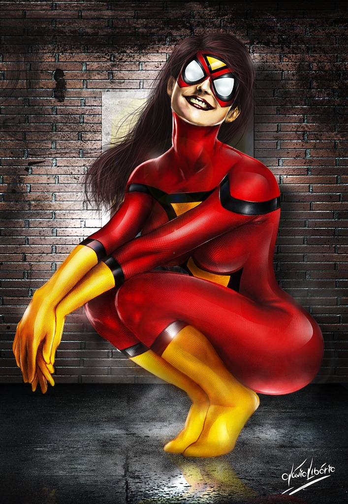 Spider woman by bennyotavio