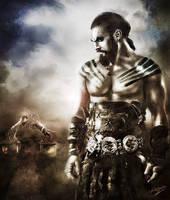 Khal Drogo by bennyotavio