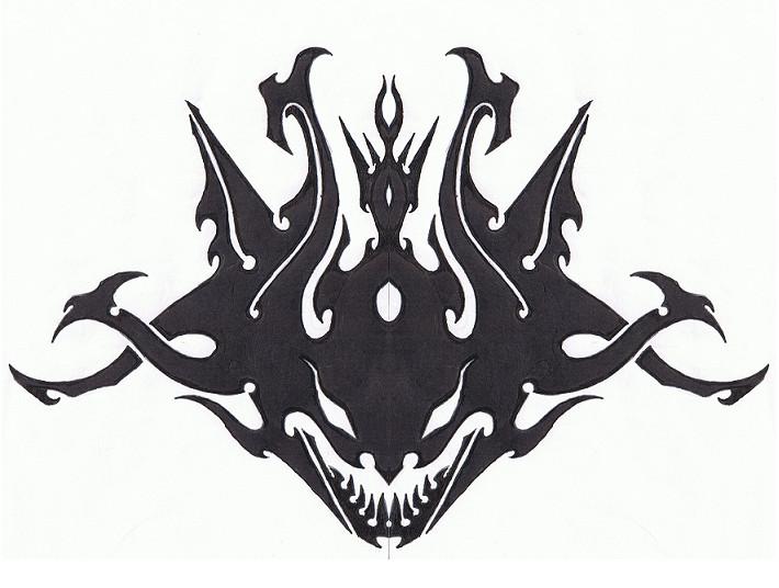 Tribal Demon by Helletic-Hybrid