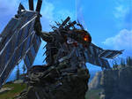 Razor Dragon -Forge Art-