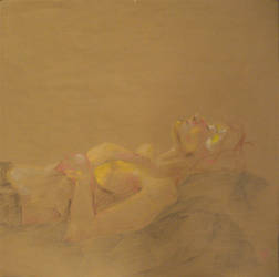 resting female figure