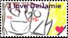 I love DeidaraXJamie .:Stamp:. by Monkey-Girl146