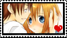 Keiichi X Rena stamp by Monkey-Girl146