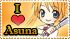 Asuna stamp by Monkey-Girl146