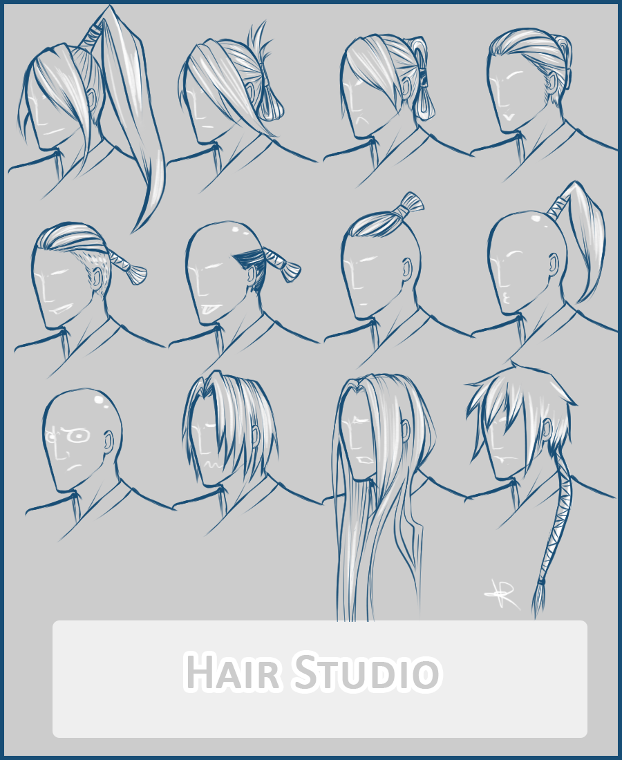 Hair Reference For Artists Topsimages
