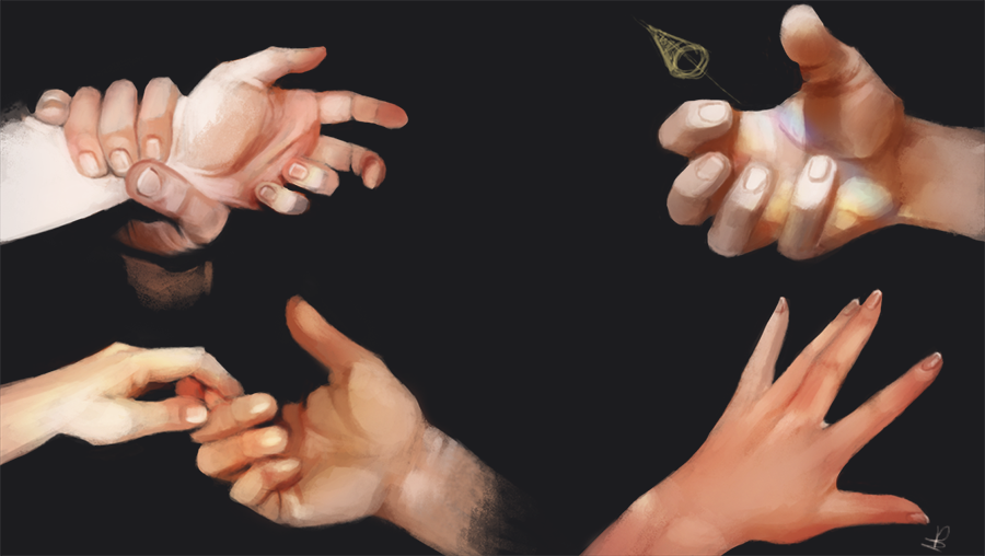 Hands study by HaitiKage