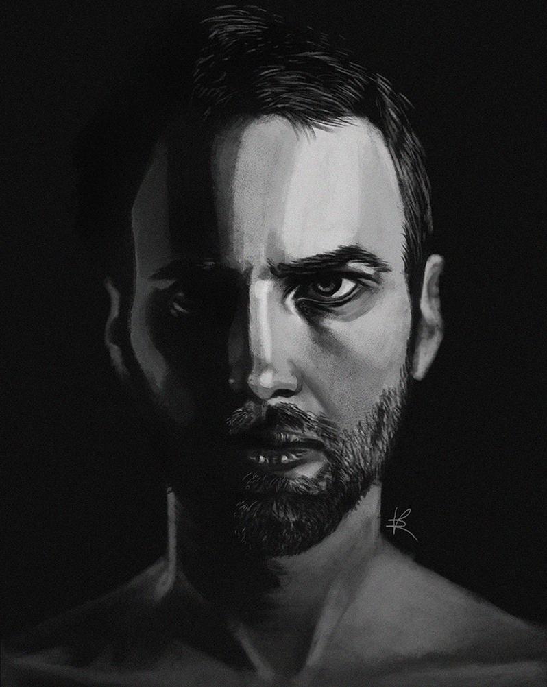Portrait study #2 by HaitiKage