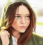 Portrait study #3