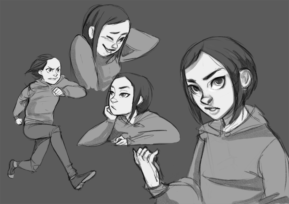 Character study by HaitiKage