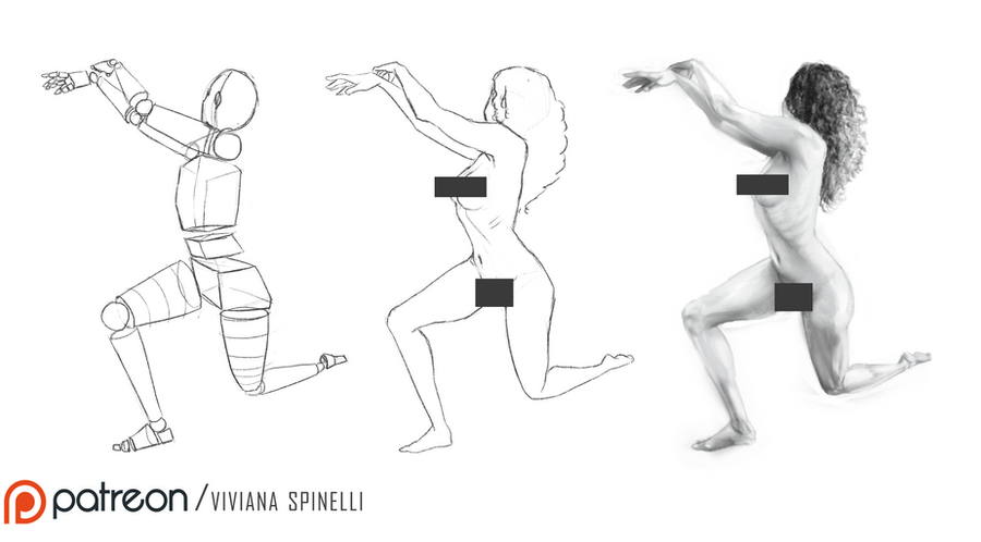 Gesture pose + NSFW by HaitiKage