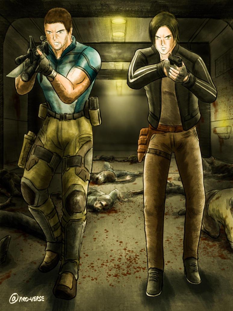 Resident Evil Vendetta - Short Change Hero by neo-verse