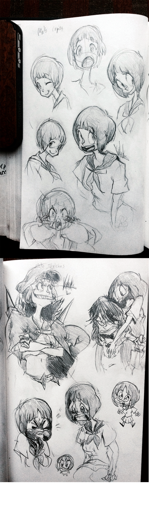 Sketchdump o' Mako by Vertecks