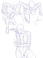 anatomy doodles by dg-doodles