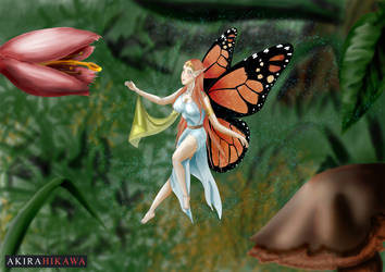 Monarch Fairy by AkiraHikawa