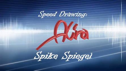 Speed Drawing of Spike Spiegel (short version)