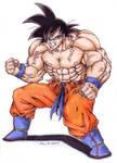 Angry Goku - Dokuro