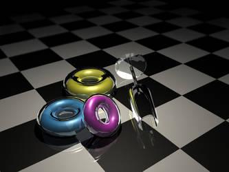 CMYK Glass by TAoVEZ