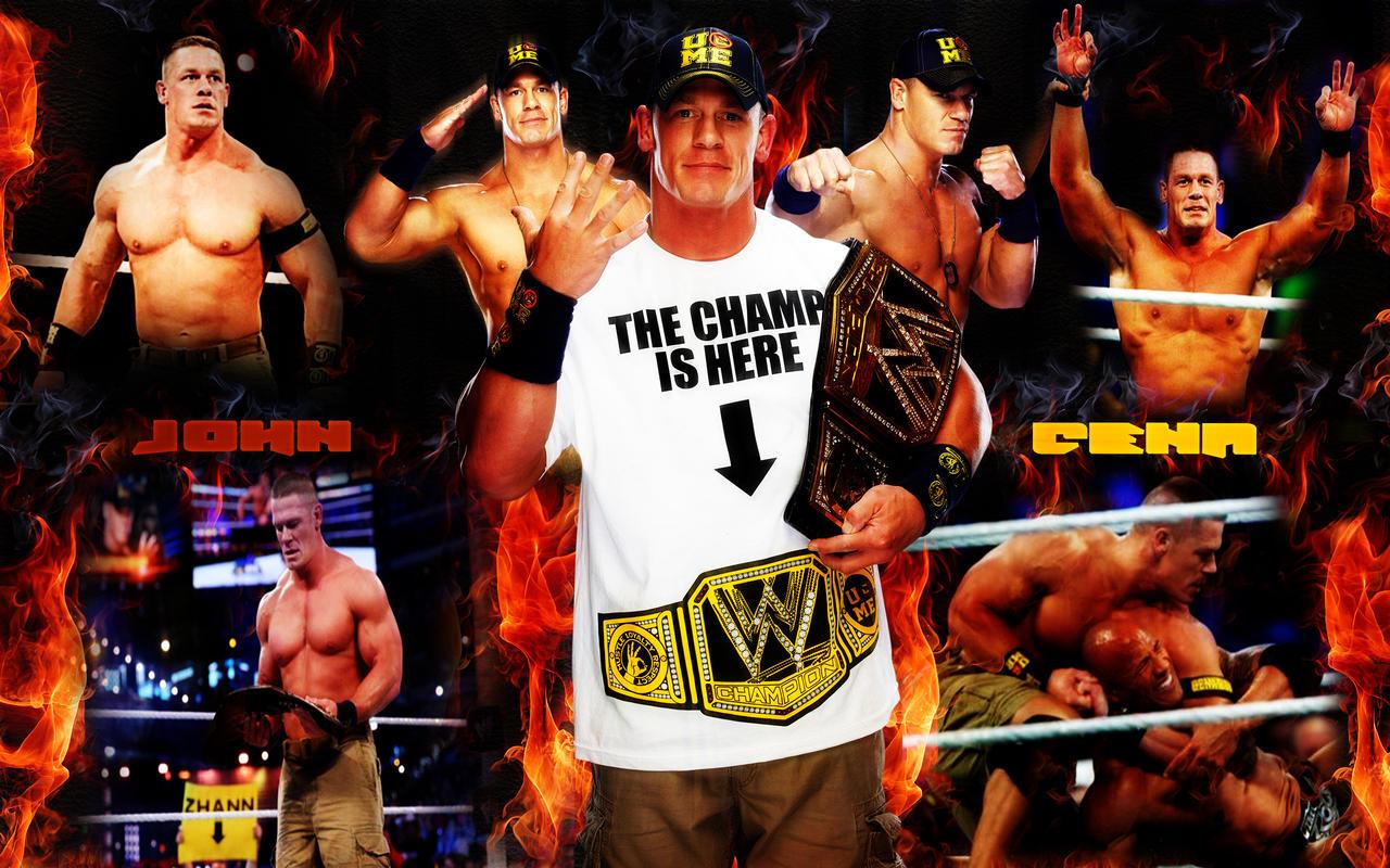 John Cena WWE Champion by menasamih on DeviantArt  John Cena WWE C...