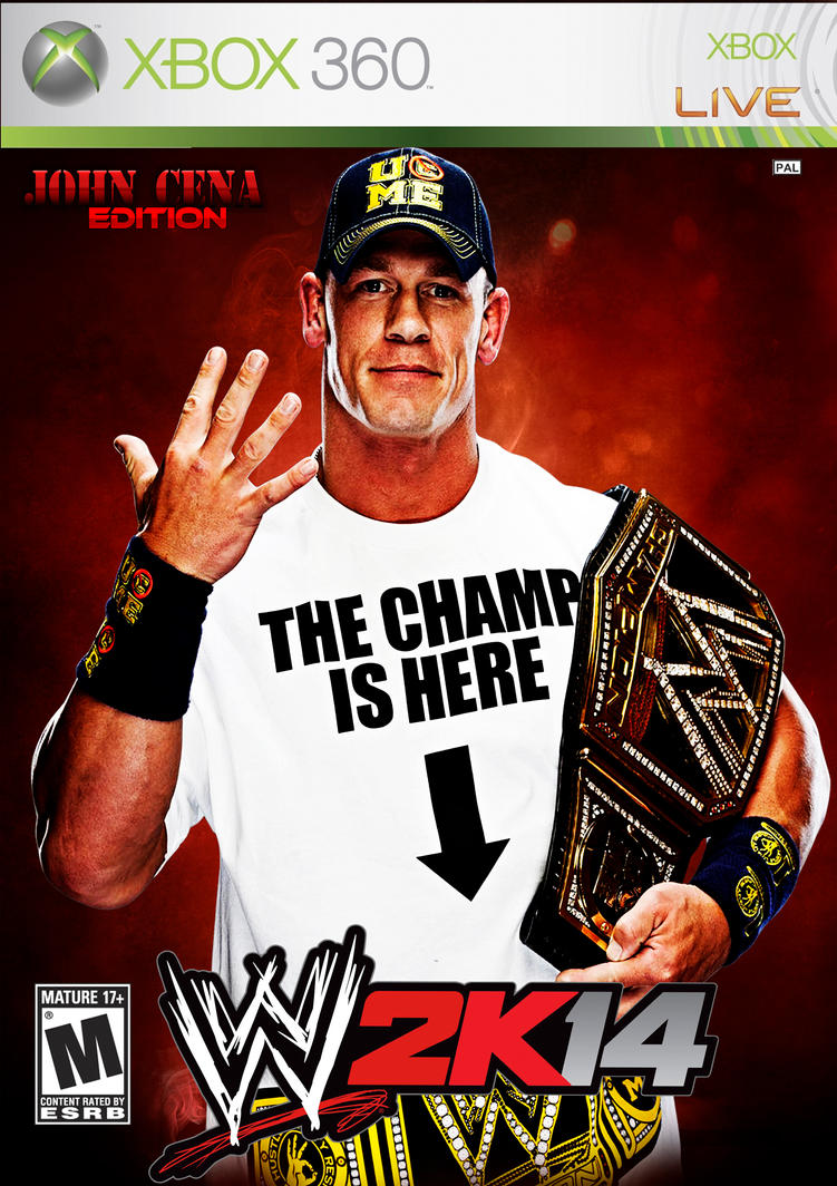 wwe2k14 john cena editionmenasamih on deviantart