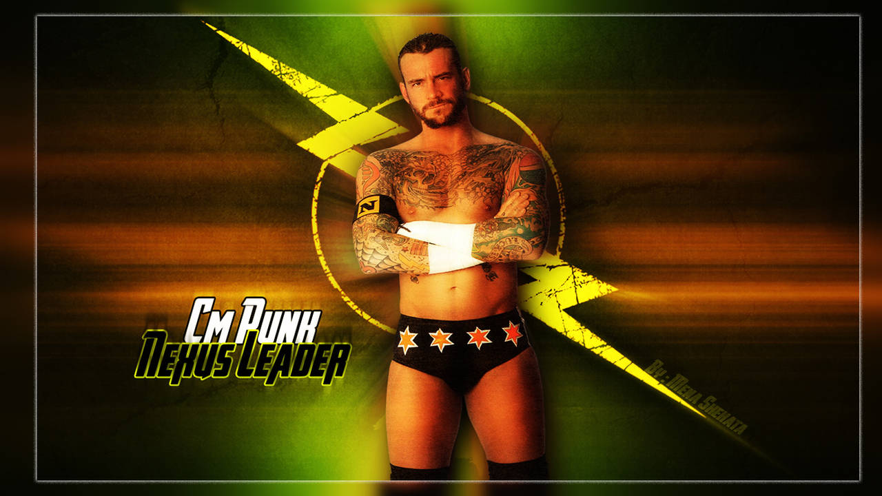 Cm Punk Nexus Leader Wallpaper By Menasamih On Deviantart