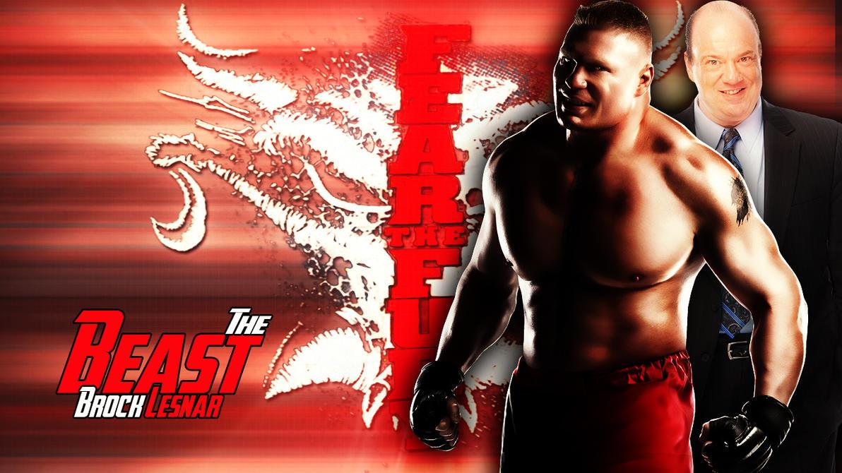 The Beast Brock Lesnar Wallpaper By Menasamih