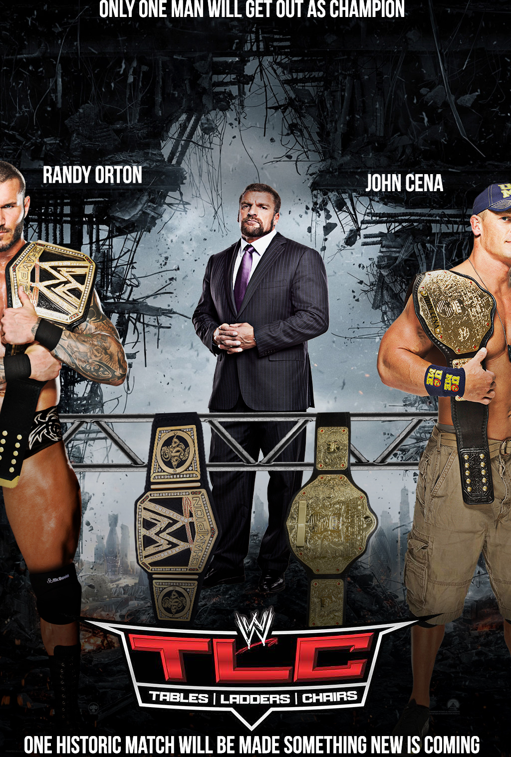 Wwe tables ladders and chairs 2013 poster -  Tlc Poster 2013 By Menasamih