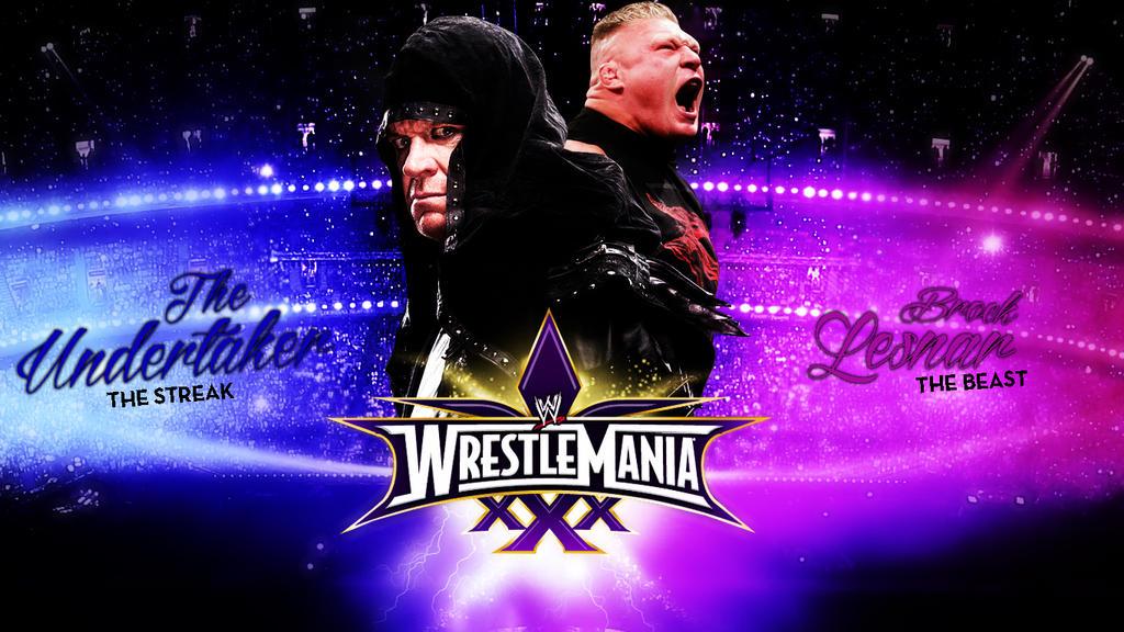 The Undertaker Vs Brock Lesnar Wrestlemania 30!:) by ...