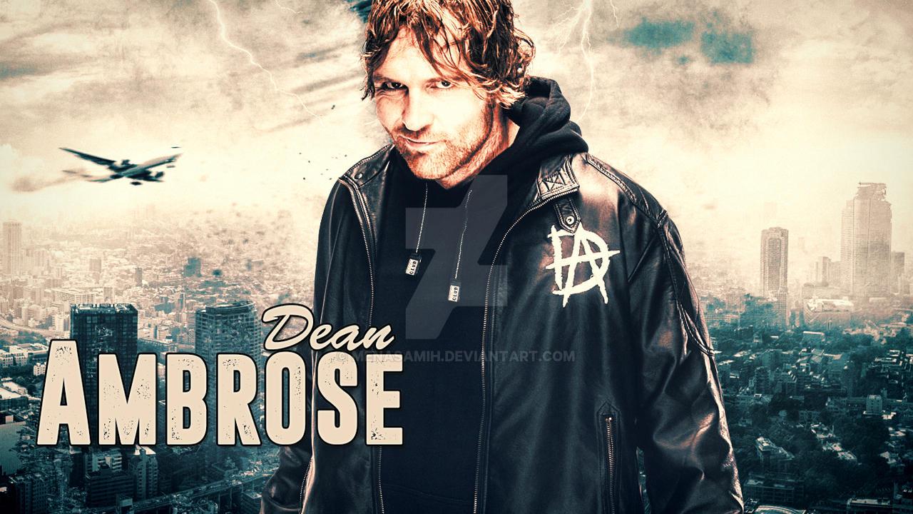 Dean Ambrose Wallpaper By Menasamih On Deviantart