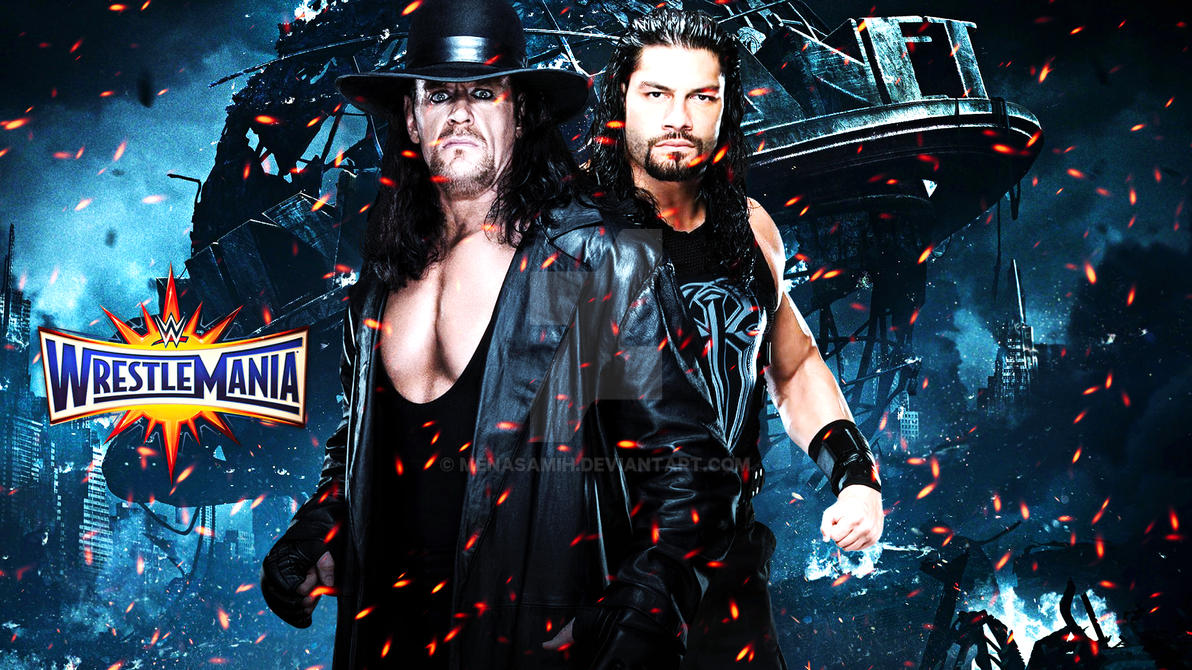 The Undertaker vs. Roman Reigns Wrestlemania 33 by ...