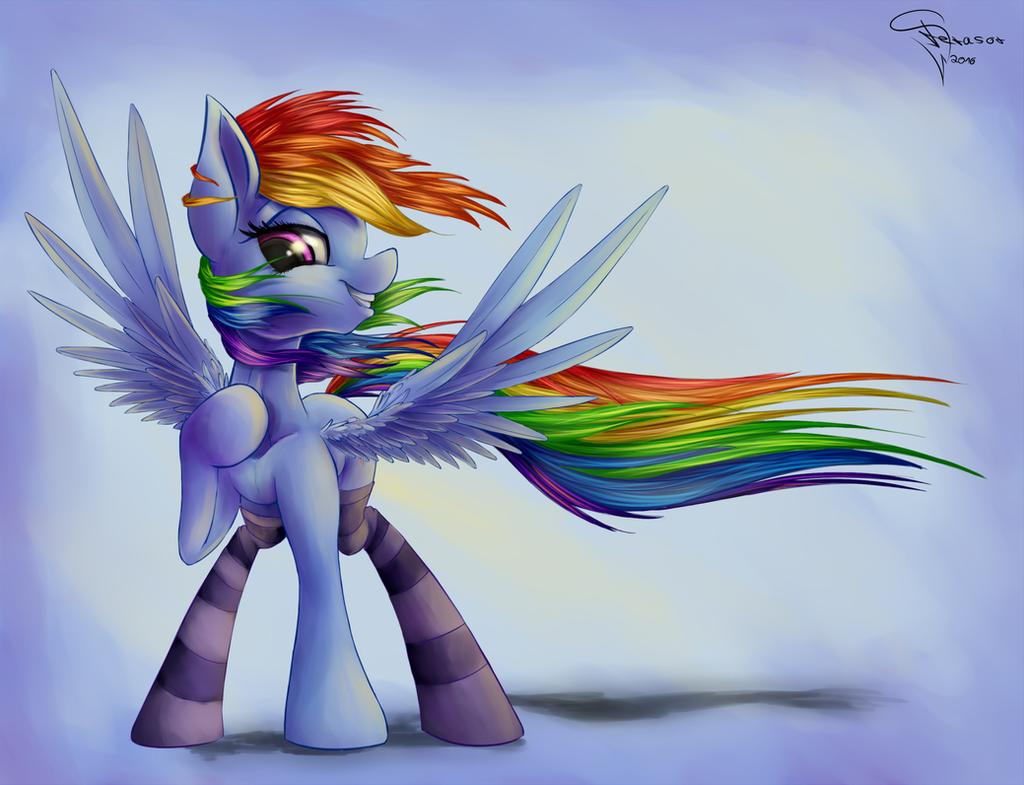 Rainbow breeze by Ferasor