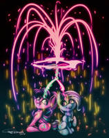 Fireworks by Ferasor