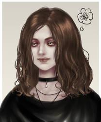 self portrait by ErzYoroy