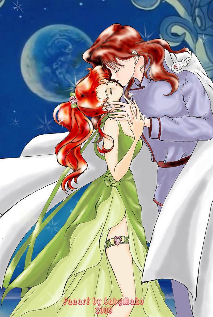 Sailor Jupiter And Nephrite Jupiter and Nephrite P...
