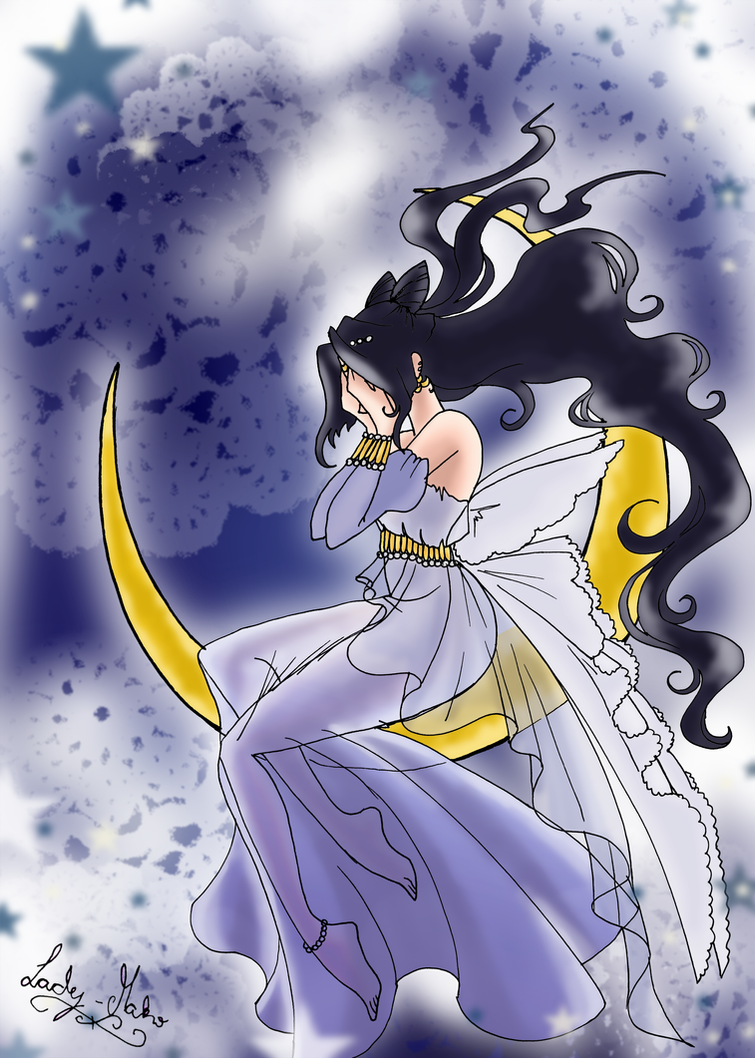 OSC3: Sailor Bloody Moon by LadyMako